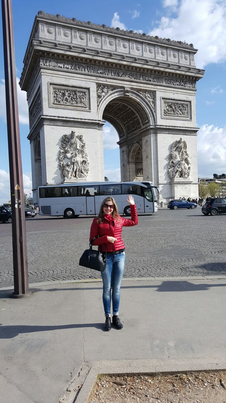 Триумфальная арка Франция
