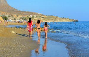 пляж Амнисос